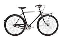 Creme Caferacer Doppio Cityfiets Heren 7-speed zwart